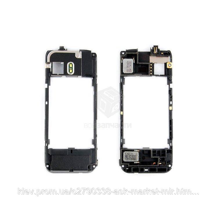 Средняя часть корпуса для Nokia 5800 Original Полная - 2 звонка, вспышка, разъём зарядки