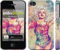 "Чехол на iPhone 4s Swag. Marilyn ""1205c-12"""