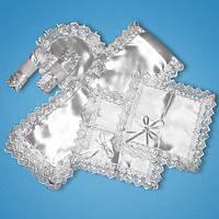 Свадебный венчальный набор (рушник,два платочка,два подсвечника,салфетка под кольца)