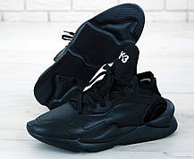 Мужские кроссовки AD Y-3 Kaiwa Black . ТОП Реплика ААА класса., фото 2