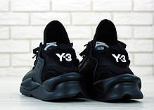 Мужские кроссовки AD Y-3 Kaiwa Black . ТОП Реплика ААА класса., фото 3