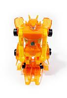 🔝 Монкарт, робот машинка трансформер (Желтый) - Monkart копия с доставкой по Украине и Киеву | 🎁%🚚
