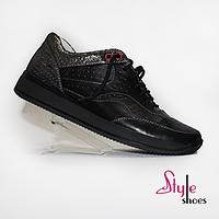 Оригинальные женские кроссовки черные