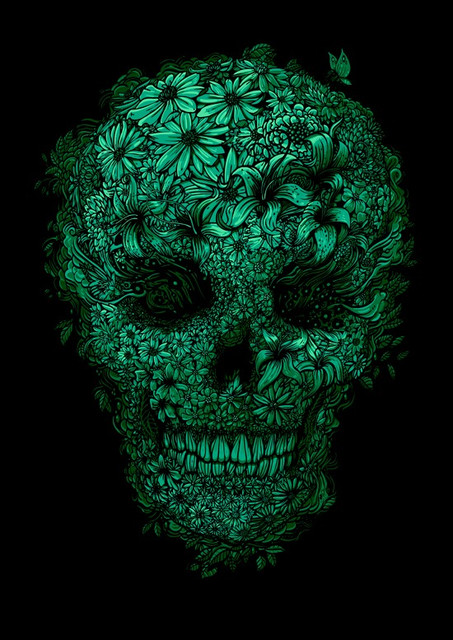 Чашки хамелеони Дизайн з черепами