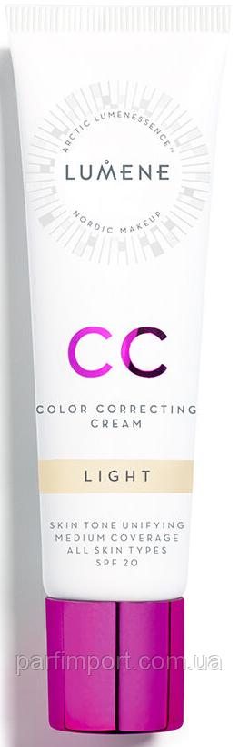 Lumene CC Color Correcting Cream  Light 30ml  (оригинал подлинник  Финляндия)