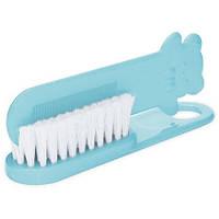 Щетка для волос мягкая серо-голубая, Canpol babies (2/424-4)