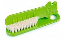 Щетка для волос мягкая салатовая, Canpol babies (2/424-2)
