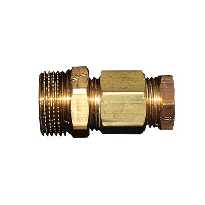 Резьбовой нипель(сальник) Heatcom
