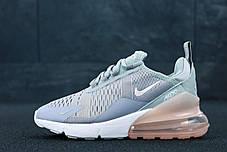 Женские кроссовки Nike Air Max 270 Grey. ТОП Реплика ААА класса., фото 2