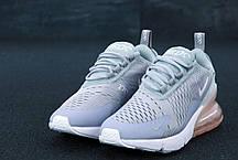 Женские кроссовки Nike Air Max 270 Grey. ТОП Реплика ААА класса., фото 3