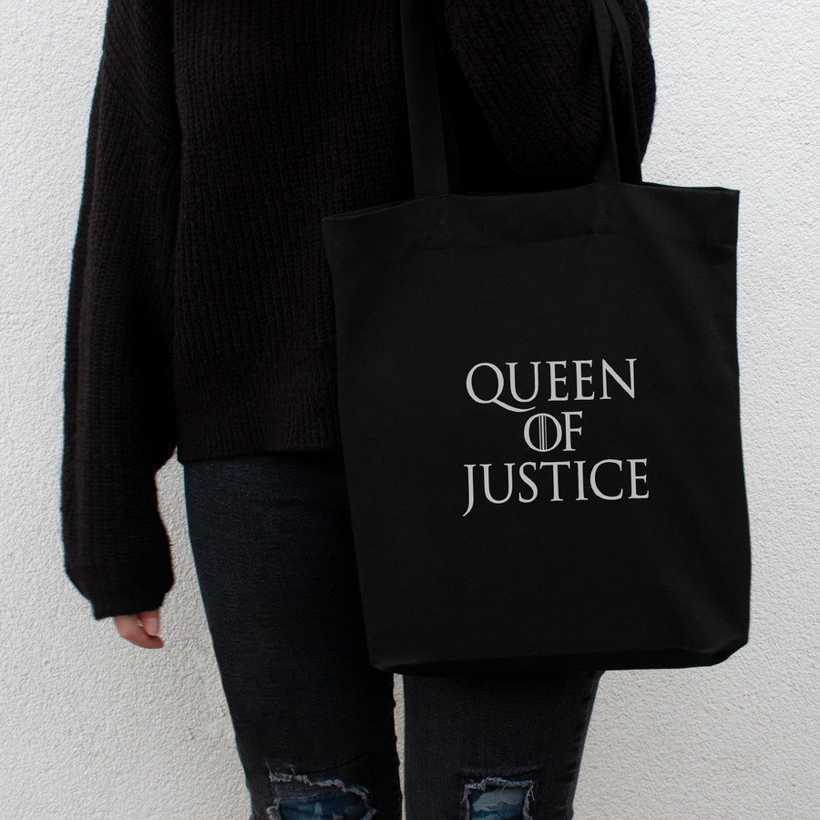 "Экосумка GoT ""Queen of justice"""