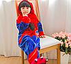 Пижама спайдермен детская кигуруми Красный 122 см, фото 2