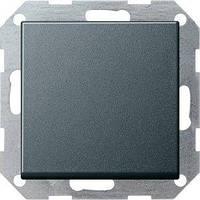 Выключатель Gira System 55 1 кл., перекрестный, антрацит (012728)