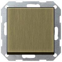 Выключатель Gira System 55 1 кл., перекрестный, бронза (0127603)