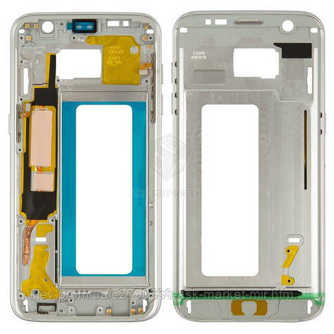 Средняя часть корпуса для Samsung Galaxy S7 Edge G935F Original White, фото 2