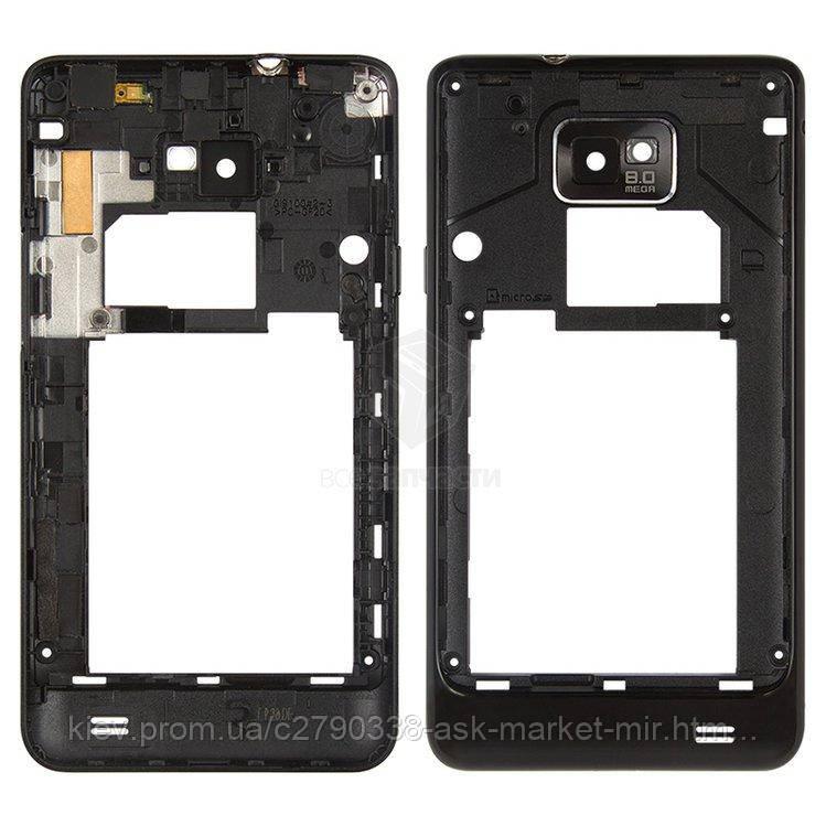 Средняя часть корпуса для Samsung Galaxy S2 I9100 Original Black