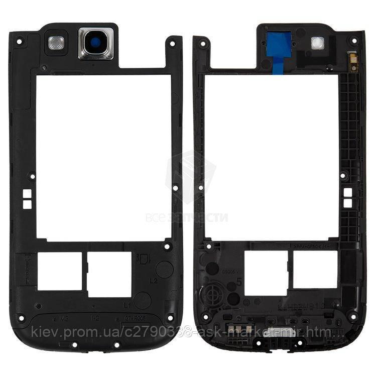 Средняя часть корпуса для Samsung Galaxy S3 I9305 Original Grey