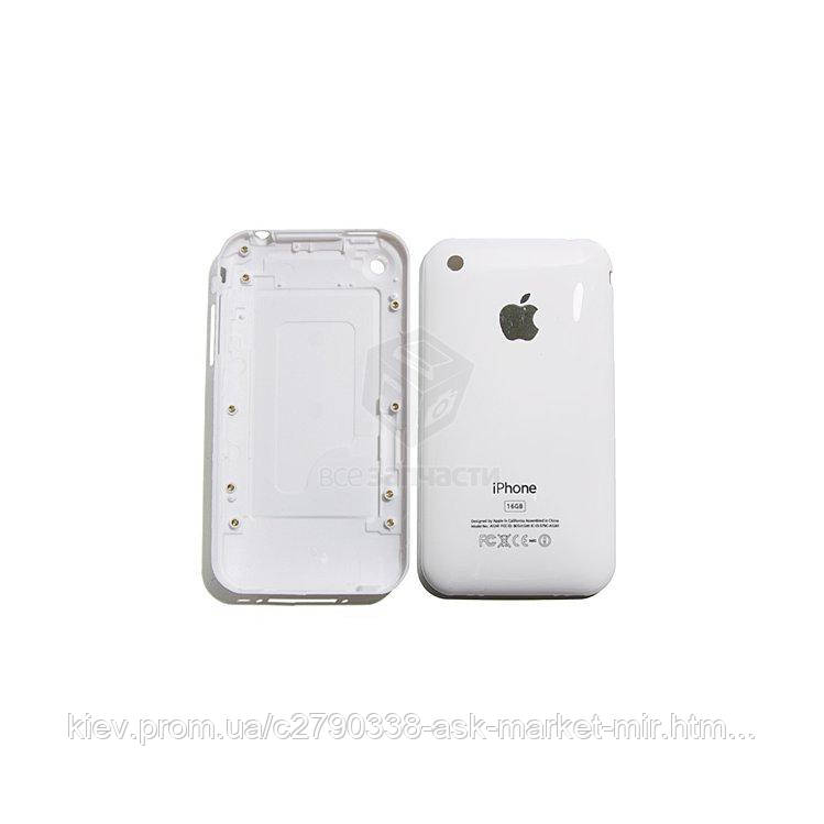 Задняя панель корпуса (крышка аккумулятора) для Apple iPhone 3G 16 ГБ Original White