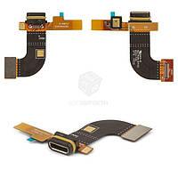 Шлейф для Sony Xperia M5 (E5603, E5606, E5633, E5643, E5653, E5663) Оригинал Разъем зарядки, микрофон