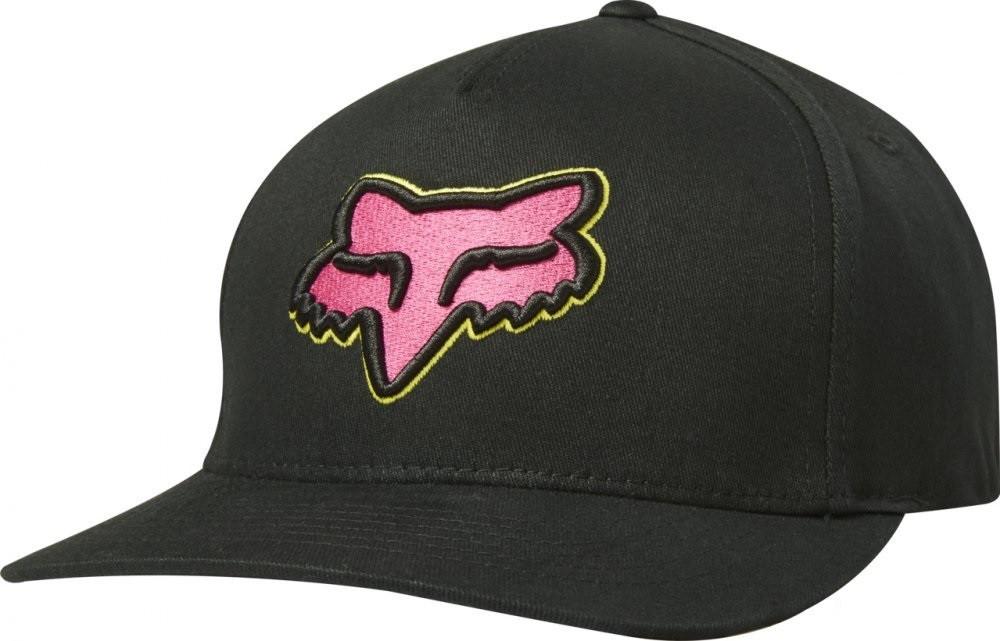 Кепка FOX EPICYCLE FLEXFIT HAT [BLK/PNK], L/XL