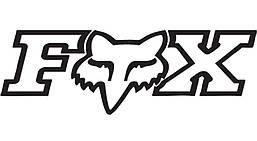 "Наклейка FOX ""CORPORATE TDC - 2.75"" [BLACK]"