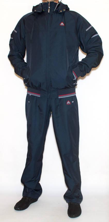 Спортивний утеплений костюм чоловічий Soccer |Плащівка + фліс| (2XL), фото 2