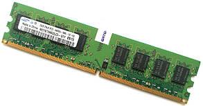 Оперативная память Samsung DDR2 2Gb 800MHz PC2 6400U CL6 (M378T5663QZ3-CF7) Б/У