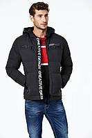 Куртка мужская батал черная Glo-Story 3XL