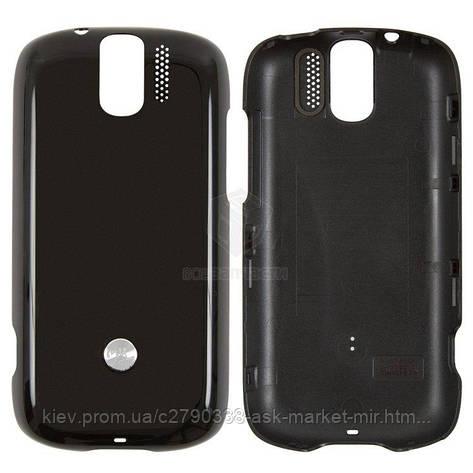 Задняя панель корпуса (крышка аккумулятора) для HTC Espresso Original Black, фото 2