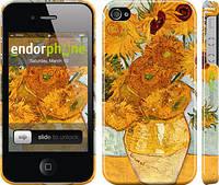 "Чехол на iPhone 4s Винсент Ван Гог. Подсолнухи ""162c-12"""