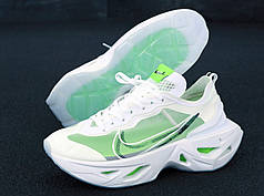 Мужские кроссовки Nike Air Zoom Vista Grind White Green. ТОП Реплика ААА класса.