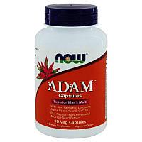 Мультивитамины для мужчин Now Foods ADAM (90 капсул)