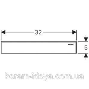 Накладная панель для трапа Geberit Uniflex 154.336.FW.1, фото 2