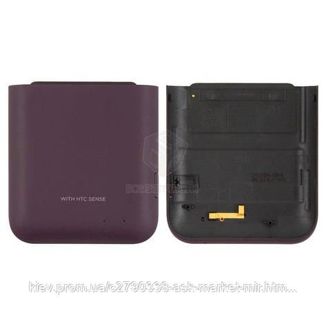 Задняя панель корпуса (крышка аккумулятора) для HTC Rhyme S510b G20 Original Violet, фото 2
