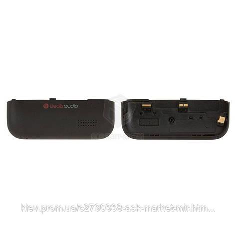 Задняя панель корпуса (крышка аккумулятора) для HTC One V T320e G24 PK76100 Original Black, фото 2