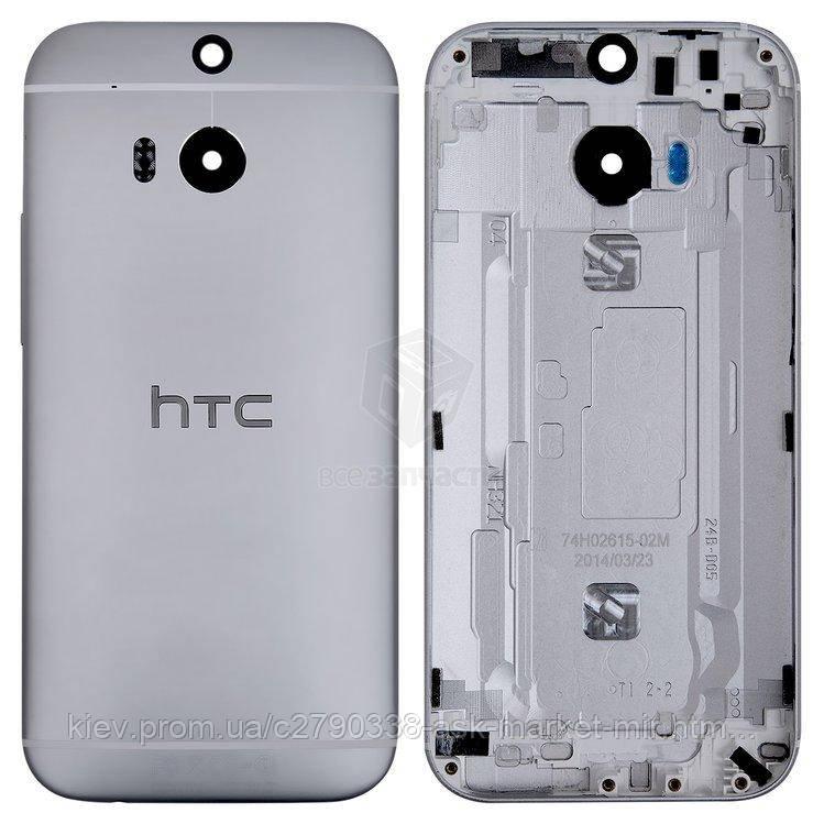 Задняя панель корпуса (крышка аккумулятора) для HTC One M8 Original Grey