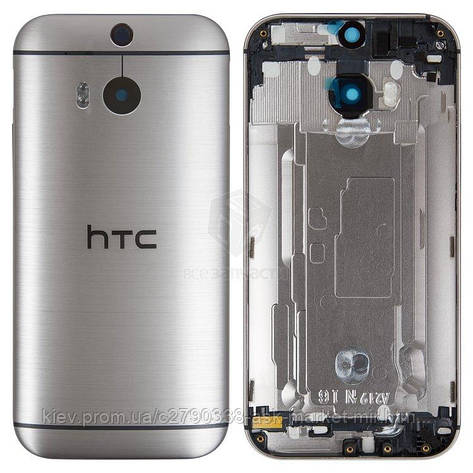 Задня панель корпусу (кришка акумулятора) для HTC One M8s Original Grey, фото 2