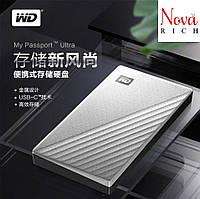WD My Passport Ultra 4TB MAC Western Digital Внешний жесткий диск в железном корпусе. Оригинал