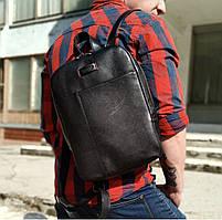 Повседневный городской рюкзак из натуральной кожи Vittorio_Safino