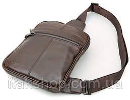 Рюкзак Vintage 14395 кожаный Коричневый, Коричневый, фото 2