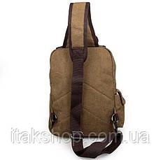 Рюкзак Vintage 14481 Бежевый, Бежевый, фото 3