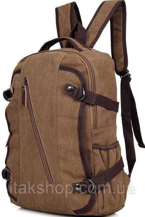 Рюкзак Vintage 14586 Коричневий, Коричневий