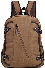 Рюкзак Vintage 14586 Коричневий, Коричневий, фото 2