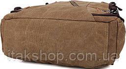 Рюкзак Vintage 14586 Коричневий, Коричневий, фото 3