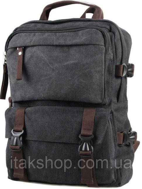 Рюкзак большой Vintage 14589 Серый, Серый