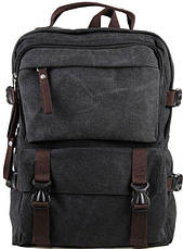 Рюкзак большой Vintage 14589 Серый, Серый, фото 3