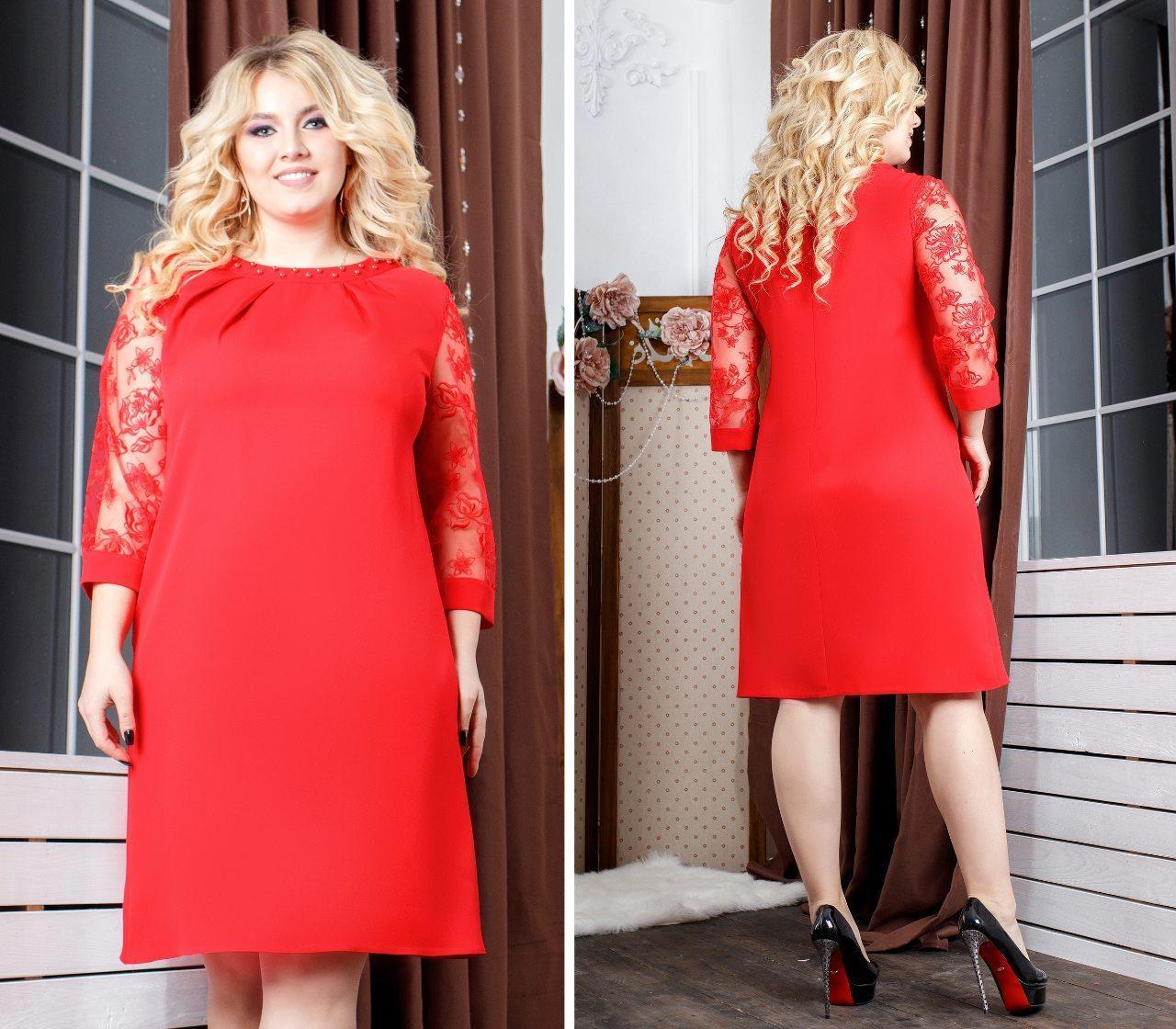 Сукня арт.149 червоне