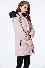 Куртка женская зимняя Glo-Story пудра L, фото 3