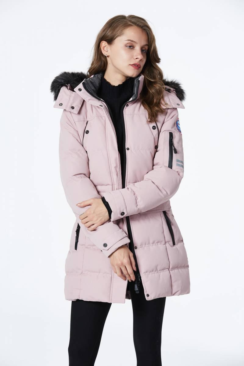 Куртка женская зимняя Glo-Story пудра L