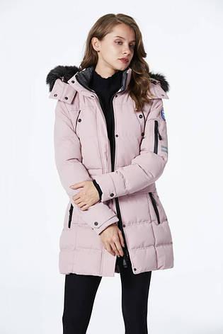 Куртка женская зимняя Glo-Story пудра L, фото 2